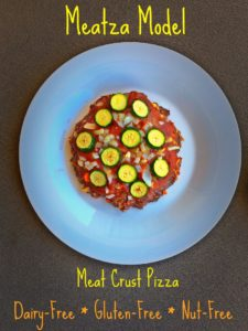 Individual Meat Crust Pizza