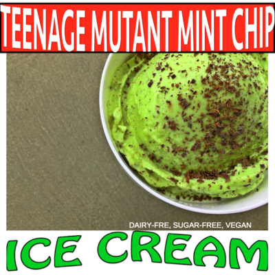 Teenage Mutant Mint Chip Ice Cream
