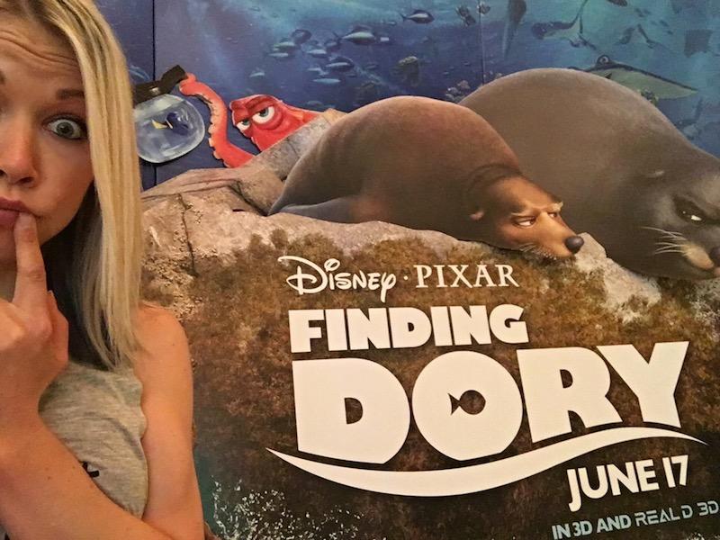 Finding Dory Junket 2016 GiGi Dubois