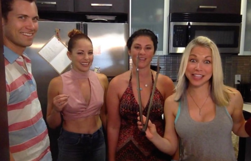 Drew Seeley Amy Paffrath Gina Fields GiGi Dubois 1