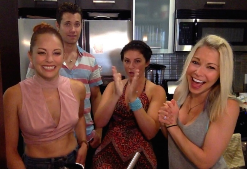 Drew Seeley Amy Paffrath Gina Fields GiGi Dubois