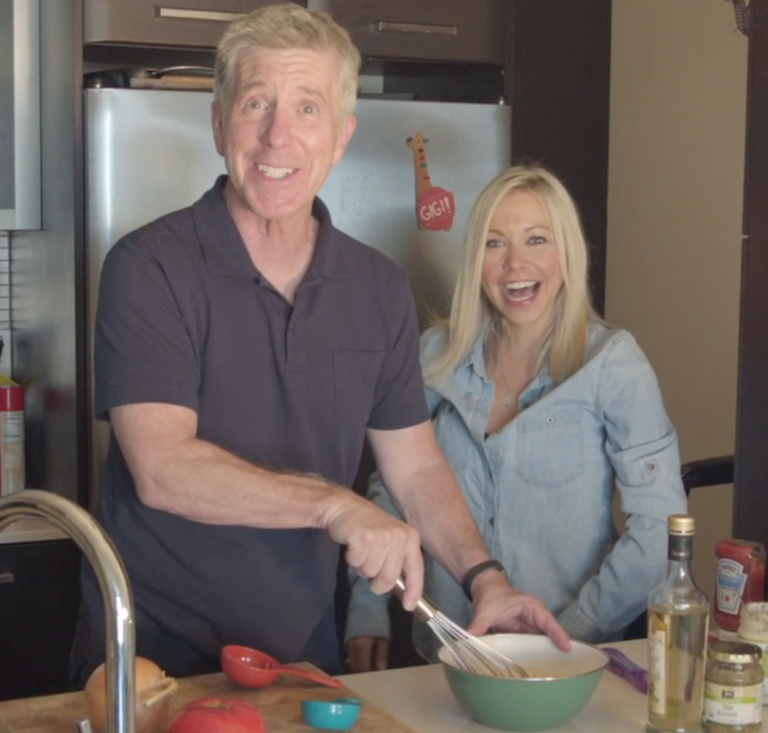Getting My Burger On With Tom Bergeron by GiGi Eats Celebrities