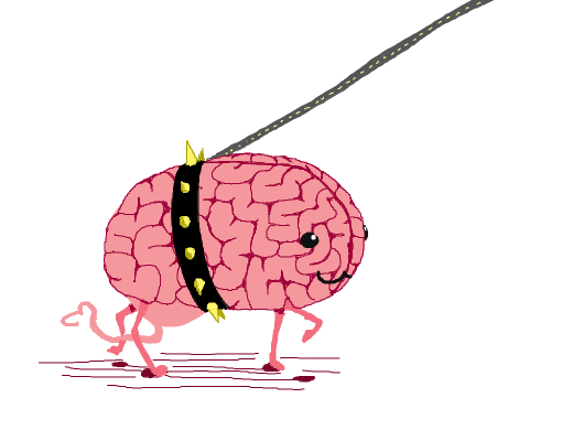 brain-on-a-leash