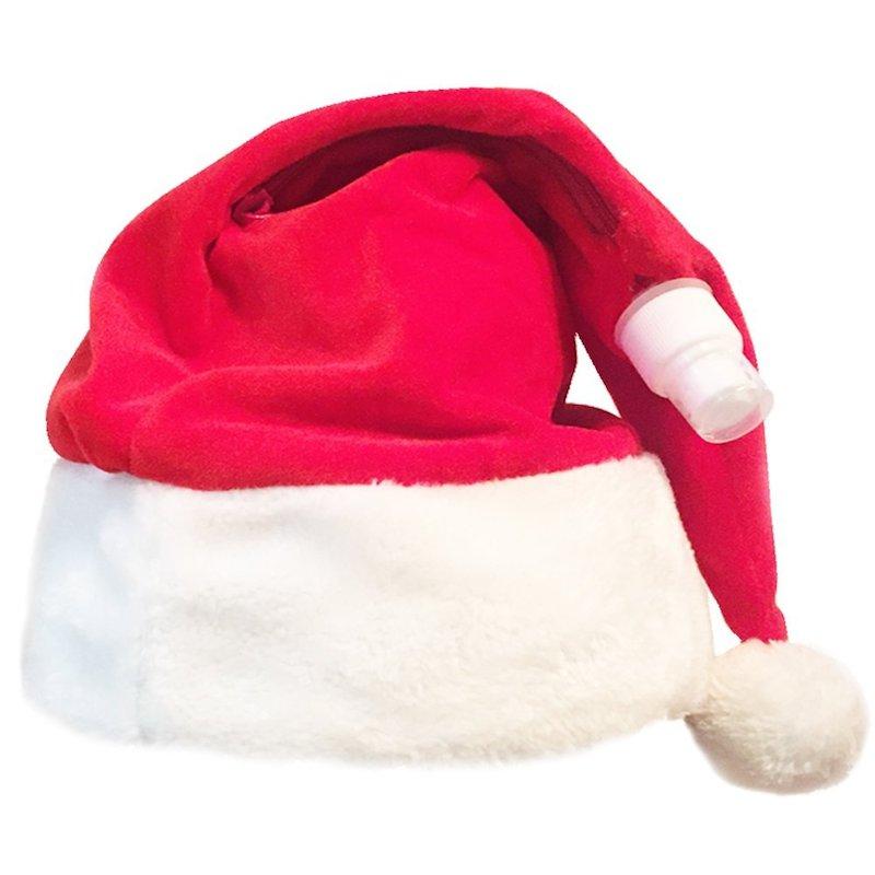 santa-hat-flask