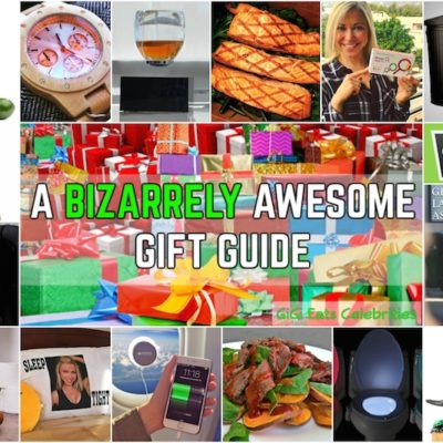 YOU TOTALLY WANT THIS STUFF… Don't Lie! A Bizarrely Awesome Gift Guide!