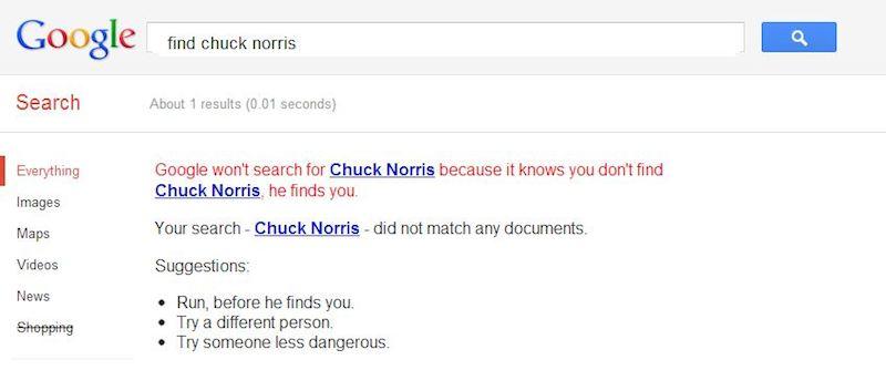 google-chucknorris