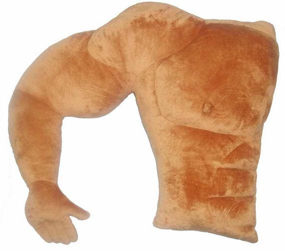 hard-body-muscle-pillow-weird-gift-guide