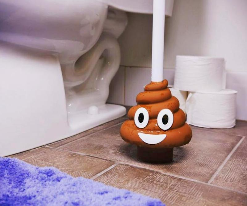 poop-emoji-toilet-plunger-weird-gift-guide
