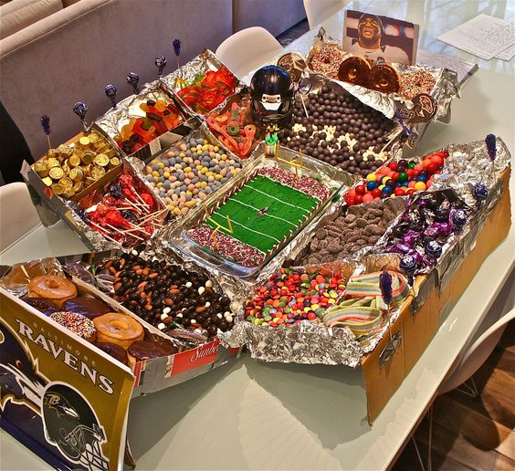 Football Snacks unhealthy stadium
