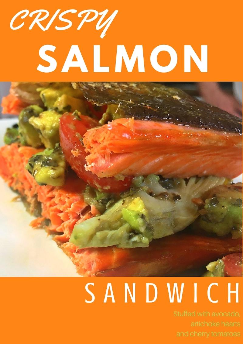 CrispySalmonSandwich