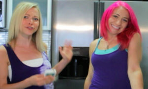 Mariko, the Pink Haired Chef and GiGi Dubois