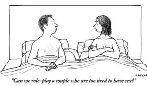 Sexy Cartoon about Role Playing