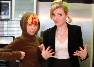 Tara and GiGi Turkey Day
