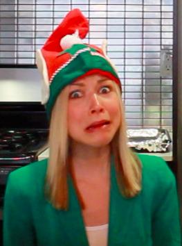 Elfie is scared!