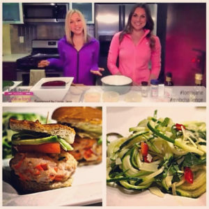 GiGi and Whitney cook up Lorna Jane inspired meals for Fit & Funny Foodies!