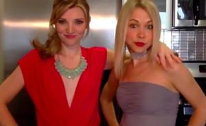 GiGi and Tara Pose for the Oscars
