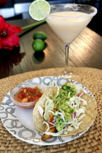 Key Lime Pie Margaritas and Fish Tacos
