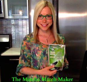 Matcha Green Tea Powder and GiGi Dubois