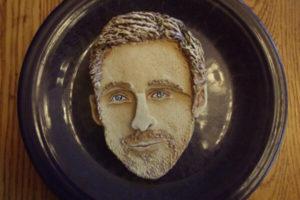 Ryan Gosling as a cake