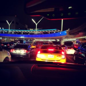 Los Angeles Airport Traffic