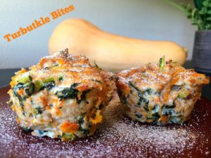 Turkey, Butternut Squash and Kale Bites