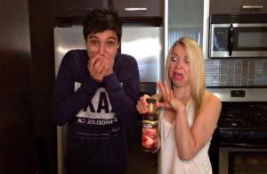 Arman of the big man's world and GiGi eats celebrities are not fans of Walden Farms Maple Syrup