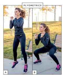 Maria Menounos Working Out