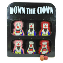 Down The Clown Carnival Game