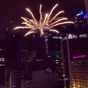 New Years Eve Auckland city center