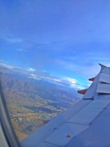 Flew to Queenstown New Zealand on the south island