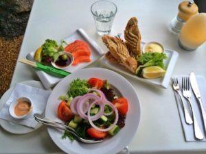 Sashimi Lobster Salad