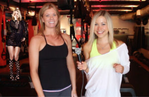 Britney spears, julie kennington, gigi dubois at drenched fitness