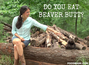 Beaver Butt The Food Babe