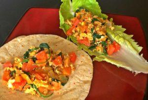 Food Babe Breakfast Burritos