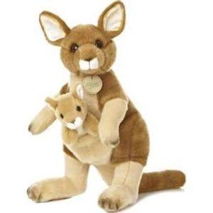 stuffed kangaroo toy