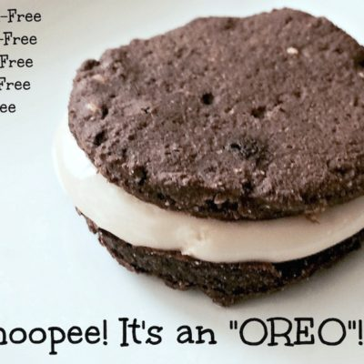 "Whoopee! It's an ""Oreo""!"