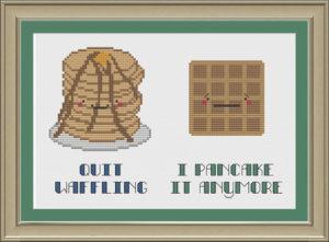 Waffle-Pancake-Joke
