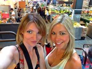 Tara Redfield and GiGi Dubois