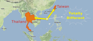 Thailand-Taiwan-Different