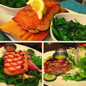 salmon-three-ways