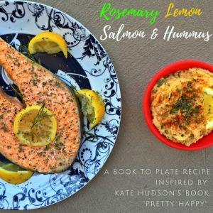 Salmon and Hummus