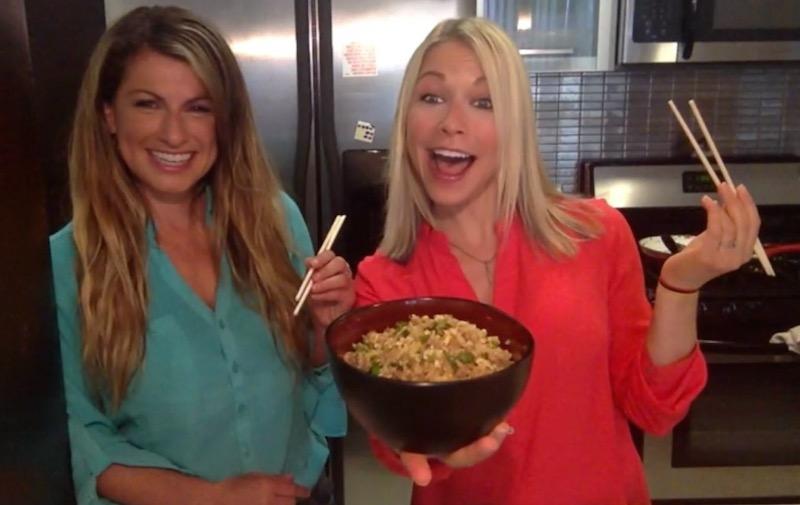 Gina and GiGi Cauliflower Fried Rice