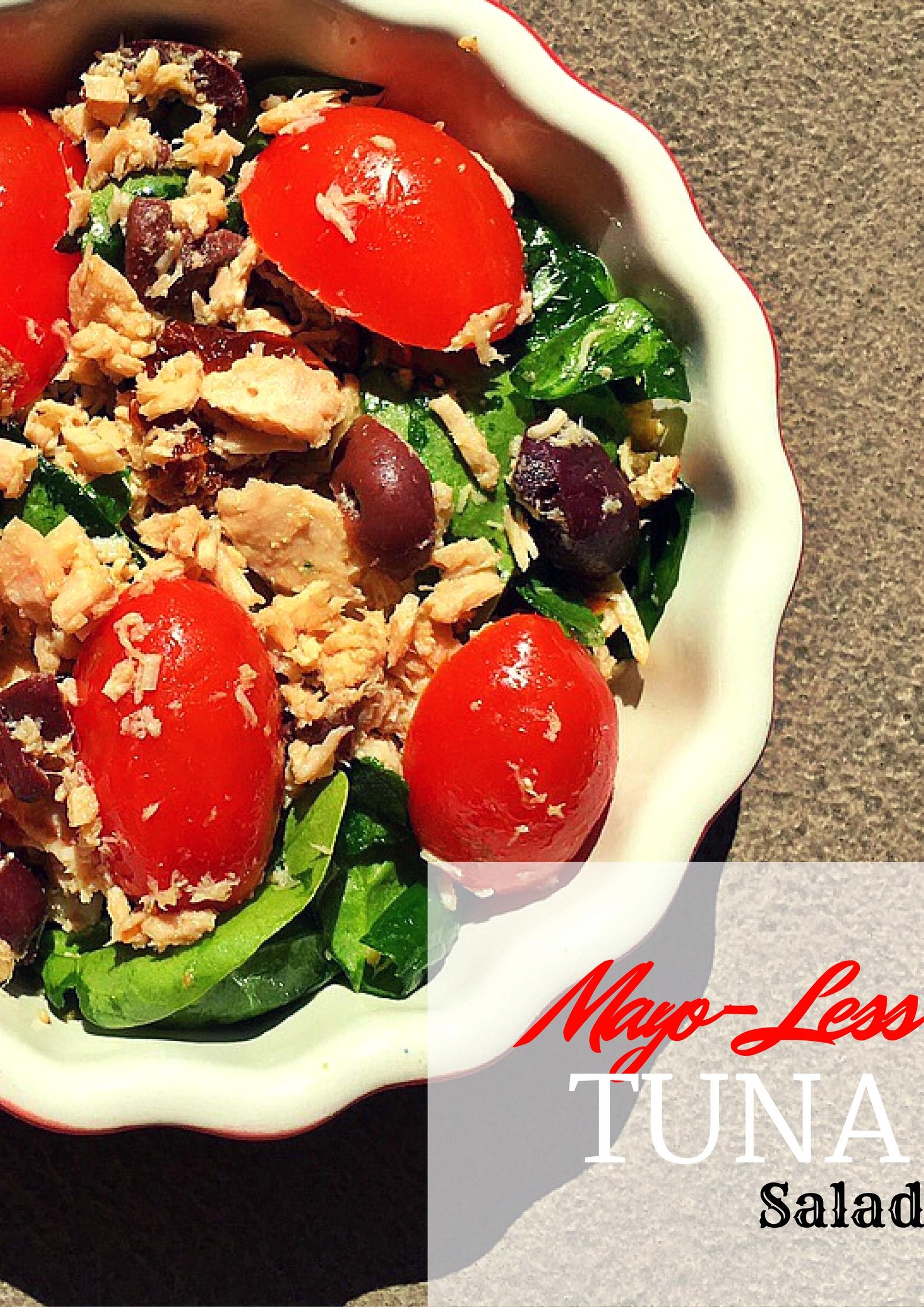 No Mayo Tuna Salad