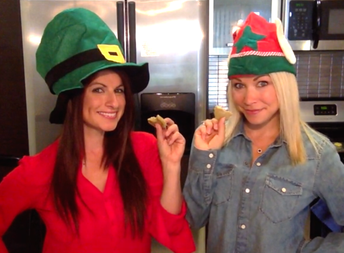 gigi-eats-gina-the-trainer-cookies-festive-hats