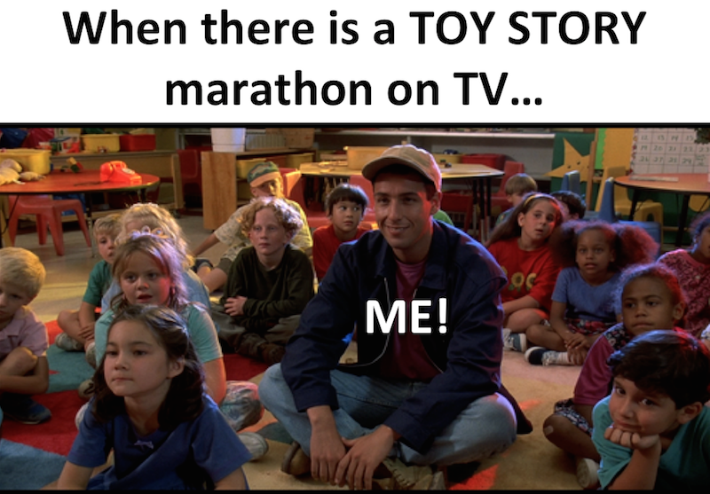 Billy Madison Toy Story