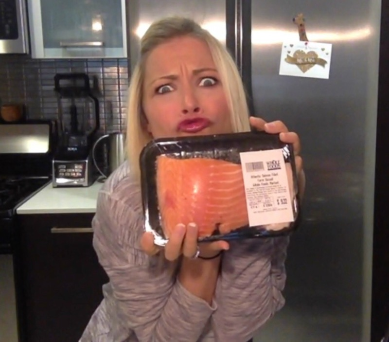 GiGi Eats Celebrities crazy about salmon