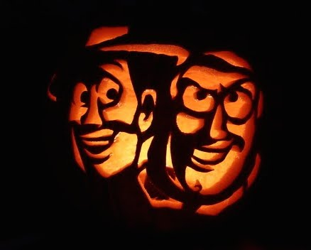 toy story pumpkin