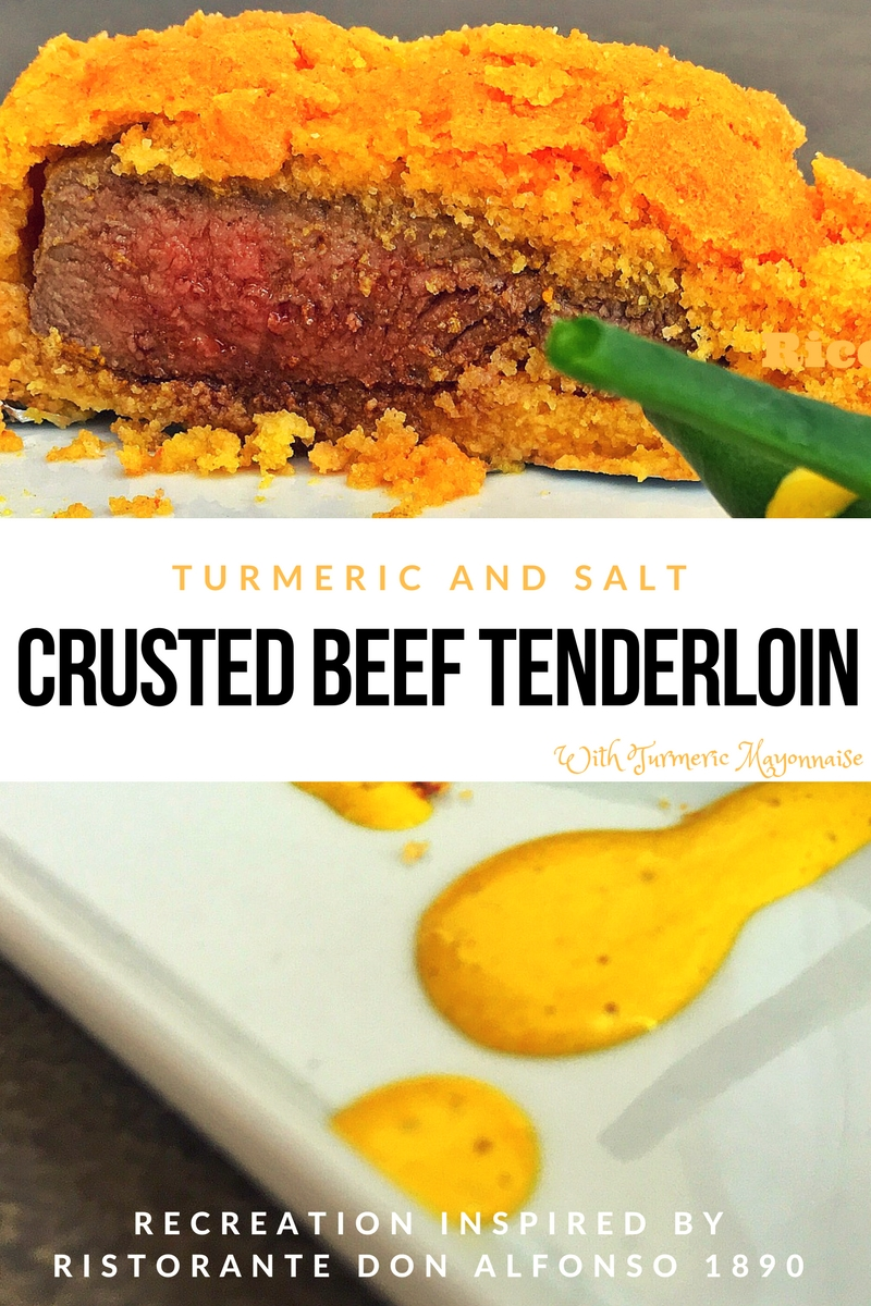 TURMERIC and Salt Beef