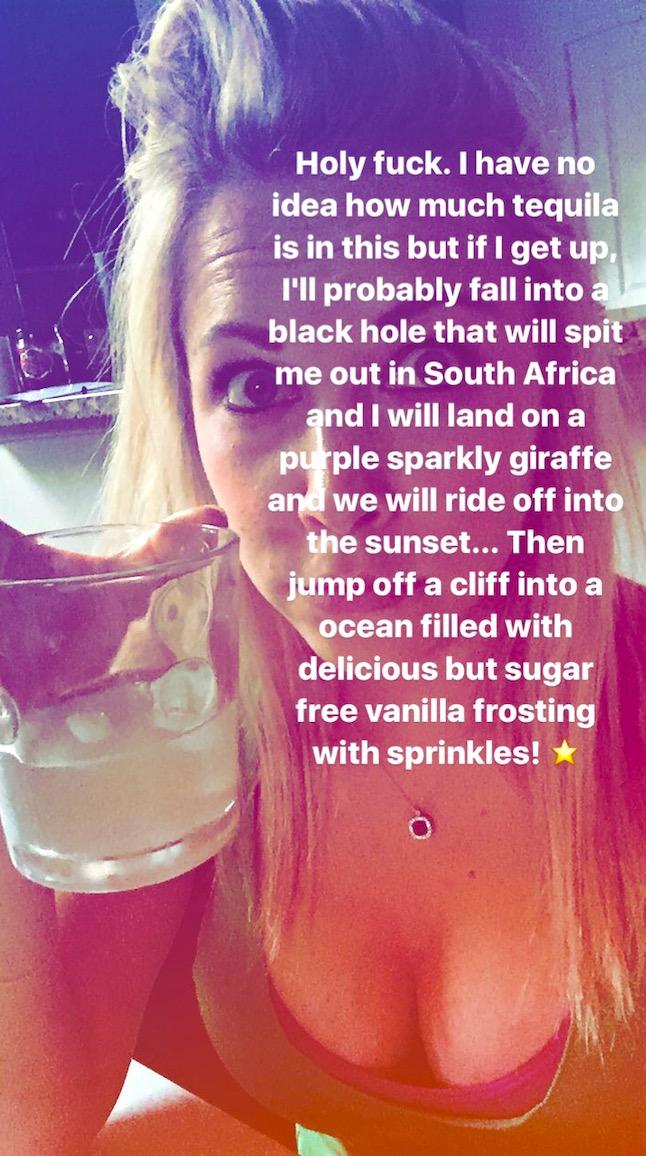 GiGi Eats Celebrities Drunk