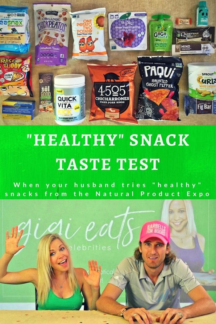 Healthy- SnackTaste Test